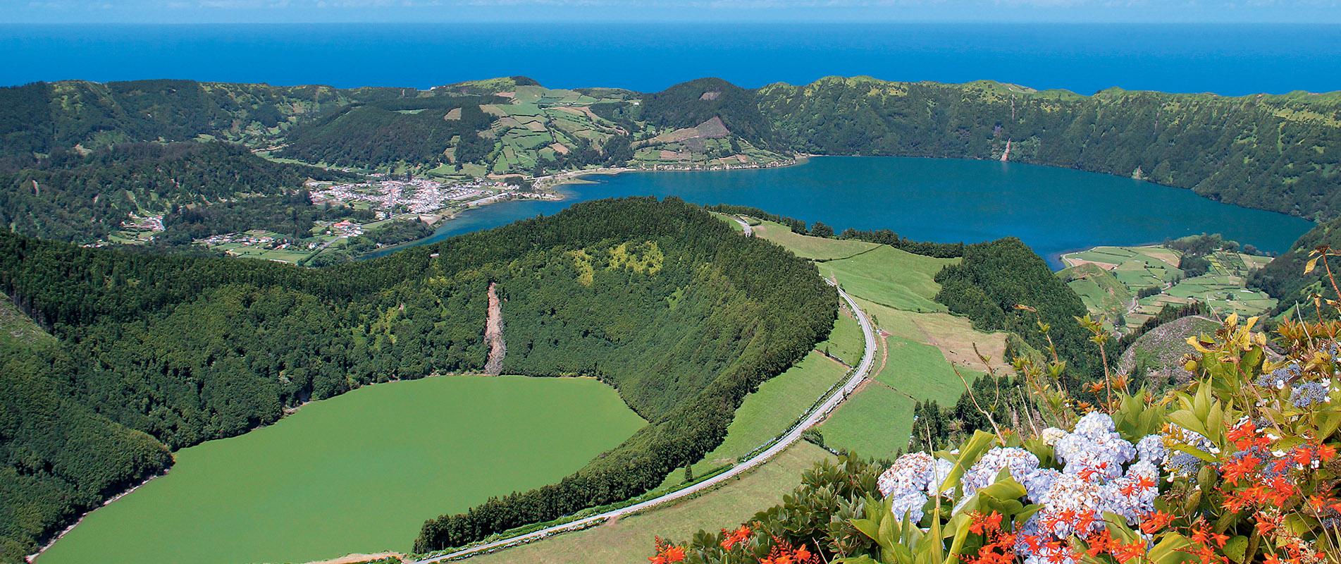 Découvrez l'île de São Miguel aux Açores: Hôtels, voyages ...